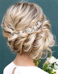 twisted updo wedding hairstyle ideas #bridalfashion #weddinghairstyle #updohairstyle #bridalhairstyles #weddingideas #weddinghairstyles