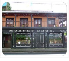 Murphy - Click on the pub image above to be the first on your block to own a unique authentic traditional family name Pubs of Ireland mousepad. The mousepad is 8¼ x 9 and is made from stain-resistant high density foam. Only $10 ea. (plus $5 s&h). Cheers!