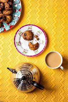 Hemsley & Hemsley: Chocolate Chip Cookies Recipe: Suitable for vegans, gluten & refined sugar free