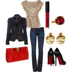 Night Out, created by nessapolyvore.polyvore.com