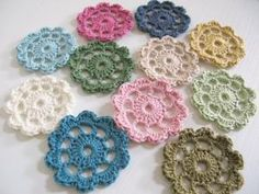 Crochet Flowers by nadine
