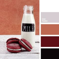 Combines a variety of different shades. White, black, burgundy, gray, red-beige – they are all in harmony with each other and provide a comprehensive picture. Such colors will look luxurious in the bright and spacious living room. Also, this combination of colors can be used to design a cafe or restaurant.