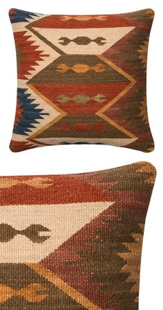 With deep browns and rich rusty tones, it's hard to ignore the eye-catching patterning on this Cathedral Rock Throw Pillow. This Southwestern accent is made with a luxurious cotton-wool blend, and feat... Find the Cathedral Rock Throw Pillow, as seen in the Urban Cowboy Nashville Collection at http://dotandbo.com/collections/urban-cowboy-nashville?utm_source=pinterest&utm_medium=organic&db_sku=118569