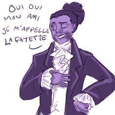 lafayette, the lancelot of the revolutionary set