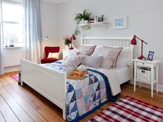 Schlafzimmer in weiss