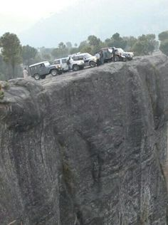 PunjPeer..  an amazing rock formation stretching over a large area. The rocks are located in Kahuta District, Pakistan.