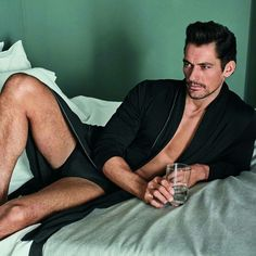 David Gandy for #GandyforAutograph @marksandspencer by Hunter and Gatti 2017