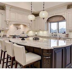 The Ultimate Awesome Luxury Dream Kitchen Design Ideas Trick - untoldhouse Home Decor Kitchen, Interior Design Kitchen, New Kitchen, Kitchen Ideas, Basic Kitchen, Luxury Kitchen Design, Copper Kitchen, Kitchen White, Kitchen Modern