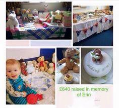 Fundraising in memory of Erin