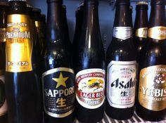 各メーカーのビール。  プレモルが1番好きかなw