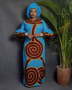 Long African Dresses, Latest African Fashion Dresses, African Print Dresses, African Print Fashion, Africa Fashion, Ankara Fashion, African Prints, African Fabric, African Print Wedding Dress