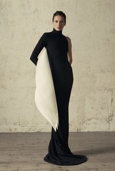 Modern classic styling. Stephane Rolland, Vogue Portugal