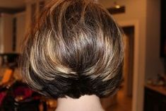 Image result for Swing Bob Hairstyle Back View