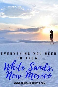 White Sands National Monument is gaining more and more attention as a top tourist destination in the United States. This post includes everything you need to know to plan the perfect trip to these stunning sand dunes.
