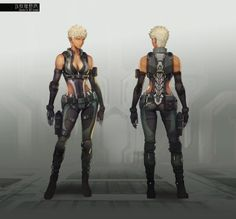 Ghost in the Shell: First Assault Concept Art