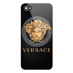 New Rare Versace Wood Logo Carbon Hard Plastic Case Cover iPhone 5/5s 6/6s Plus #UnbrandedGeneric