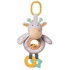 Baby Kids Hanging Toys Plush Stroller Cot Toy Pram Pushchair Cartoon Rattle JD