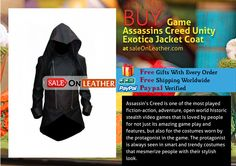 GAME ASSASSINS CREED UNITY EXOTICA JACKET COAT