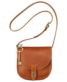 Fossil bag - love this style and the key!  Sold at Macy's and on Ebay