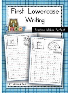 Handwriting - FREE Practice Makes Perfect {Lowercase Letters}