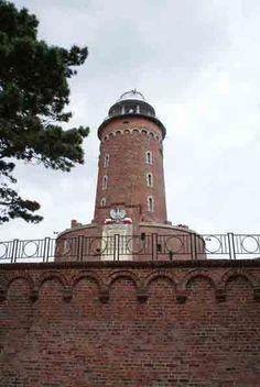 Kolobrzeg Lighthouse. Port of Kolobrzeg, western coast of Poland, Baltic Sea, Poland    ..z