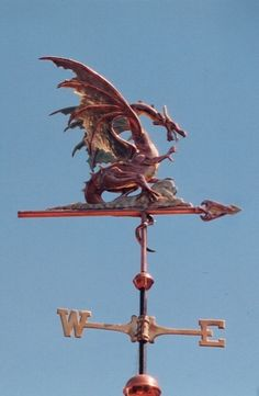 roc winged dragon by west coast - Weather Vanes