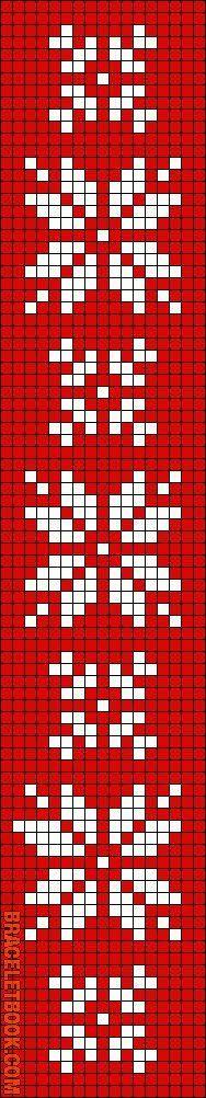 BL 10 Rotated Alpha Pattern added by christalxo Blume Fäustlinge Muster Crochet Cross, Crochet Chart, Filet Crochet, Bead Loom Patterns, Beading Patterns, Cross Stitch Patterns, Cross Stitches, Knitting Charts, Loom Knitting