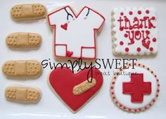 SimplySweet Treat Boutique: Medical Decorated Cookies