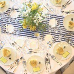 披露宴ゲストテーブルを「真上」から撮るショットが花嫁に評判 | marry[マリー]