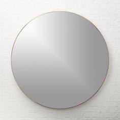 """Infinity 48"""" Round Wall Mirror + Reviews 