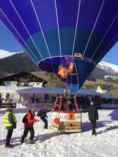 Colour and Snow at the Chateau d'Oex Balloon Festival Hot Air Balloon, Switzerland, Travel Inspiration, Balloons, Snow, Colour, World, Color, Globes