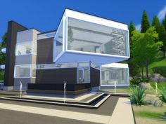 The Sims Resource: Novalee house by Suzz86 • Sims 4 Downloads
