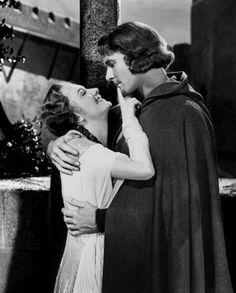 Errol Flynn & Olivia de Havilland. Robin Hood. My mom's fave. :P