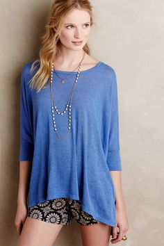 Easy Breezy Tee by t.la #anthrofave