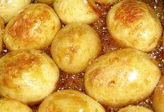 Izlandi karamellás burgonya Pretzel Bites, Potatoes, Bread, Vegetables, Food, Caramel, Potato, Brot, Essen