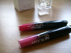 Jasminum Beauty&Fashion: Rimmel London Apocalips Lip Lacquer - Swatches and...