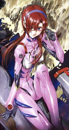 Evangelion - Mari by Yoshiyuki Sadamoto