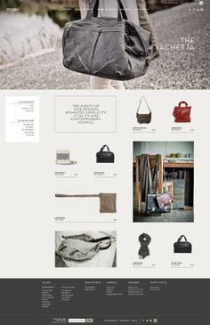 m0851 website by Catherine Marois, via Behance
