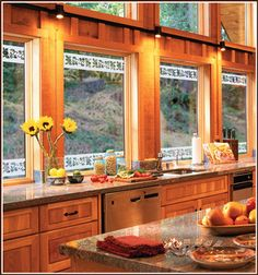 Add a decorative accent to windows and glass doors with Eden Border accents.