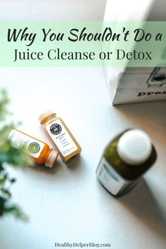 A discussion on why juice cleanses and other types of detoxes are a waste of money and don't really help your body or make you healthier in the long run. Detox Juice Cleanse, Juice Cleanses, Healthy Juice Recipes, Healthy Snacks For Diabetics, Healthy Lifestyle Tips, Healthy Eating Tips, Eating Habits, Juicing For Health, Tips & Tricks