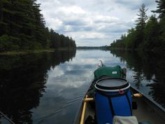Leaving portage headed out the channel leading out to the big open waters of Knife Lake. Canadian shoreline on the Left. Canoe Trip, Canoe And Kayak, Canoes, Kayaks, Kayaking Near Me, Boundary Waters, Extended Stay, Open Water, Wilderness