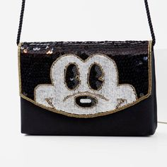 Vintage Mickey purse with beading detail Excellent vintage condition Mickey Mouse Disney purse Bags Shoulder Bags