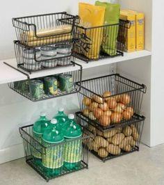 Pantry Organization Ideas - kitchen organization
