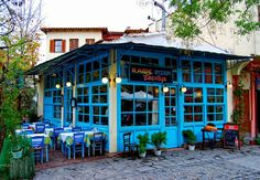 Although partly modernized, Ano Poli or Upper Town - is still one of the most picturesque districts with distinct character of its own.Untouched, the most fundamental part of Thessaloniki's architectural heritage stirs the visitor's interest. Many small taverns to be found there complete the idyllic picture.