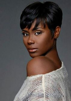 Enjoyable Bobs My Hair And Love Her On Pinterest Short Hairstyles For Black Women Fulllsitofus