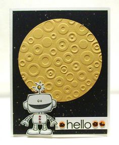 Hello Moon by SophieLaFontaine - Cards and Paper Crafts at Splitcoaststampers