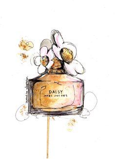 Daisy, via Hannah-Lou Illustration