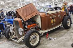 https://flic.kr/p/Eqs8tw | Motorama Show Toronto 2016 | Hot Road from Roadmates Car Club - Vintage