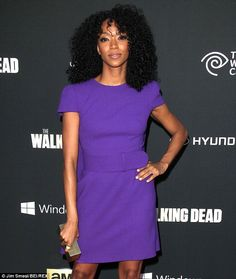 Sonequa Martin-Green of The Walking Dead and actor husband Kenric ...