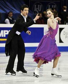 Canadian Olympic figure skater Tessa Virtue is receiving treatment from Mary Brannagan of Windsor's Virtue And Moir, Tessa Virtue Scott Moir, Ice Skating, Figure Skating, Tessa And Scott, Star Wars, Ice Dance, Prom Dresses, Formal Dresses